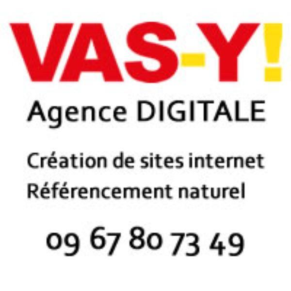 Logo de Vas-y ! agence webmarketing à Biarritz