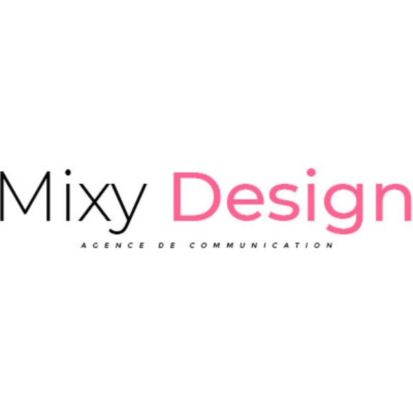 Logo de Mixy Design agence communication à Bordeaux