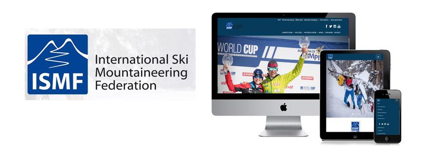 Photo du site Site vitrine Site Internet d'une organisation mondiale de sport