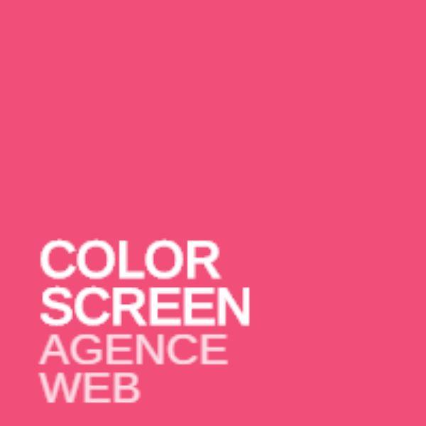 Logo de Colorscreen agence développement à Nice