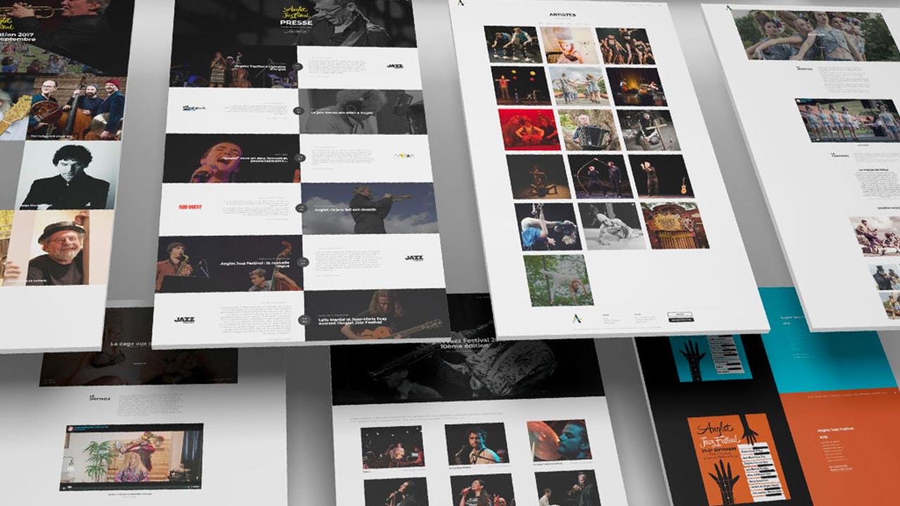 Photos de la création de Site vitrine ARCAD