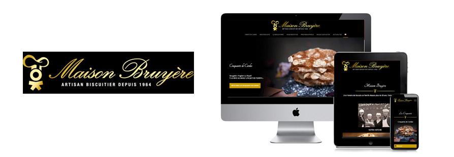 Photo du site Site marchand Site eCommerce Maison Bruyère