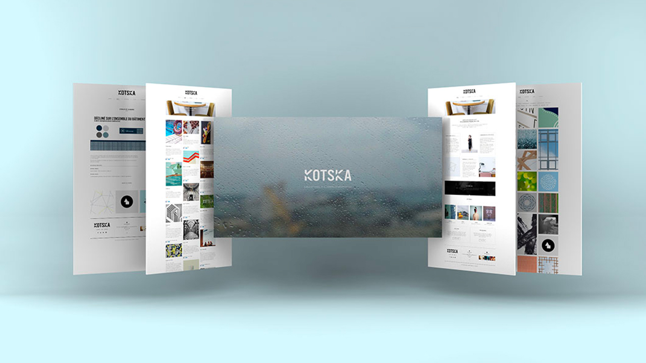 Photos de la création de Site vitrine KOTSKA