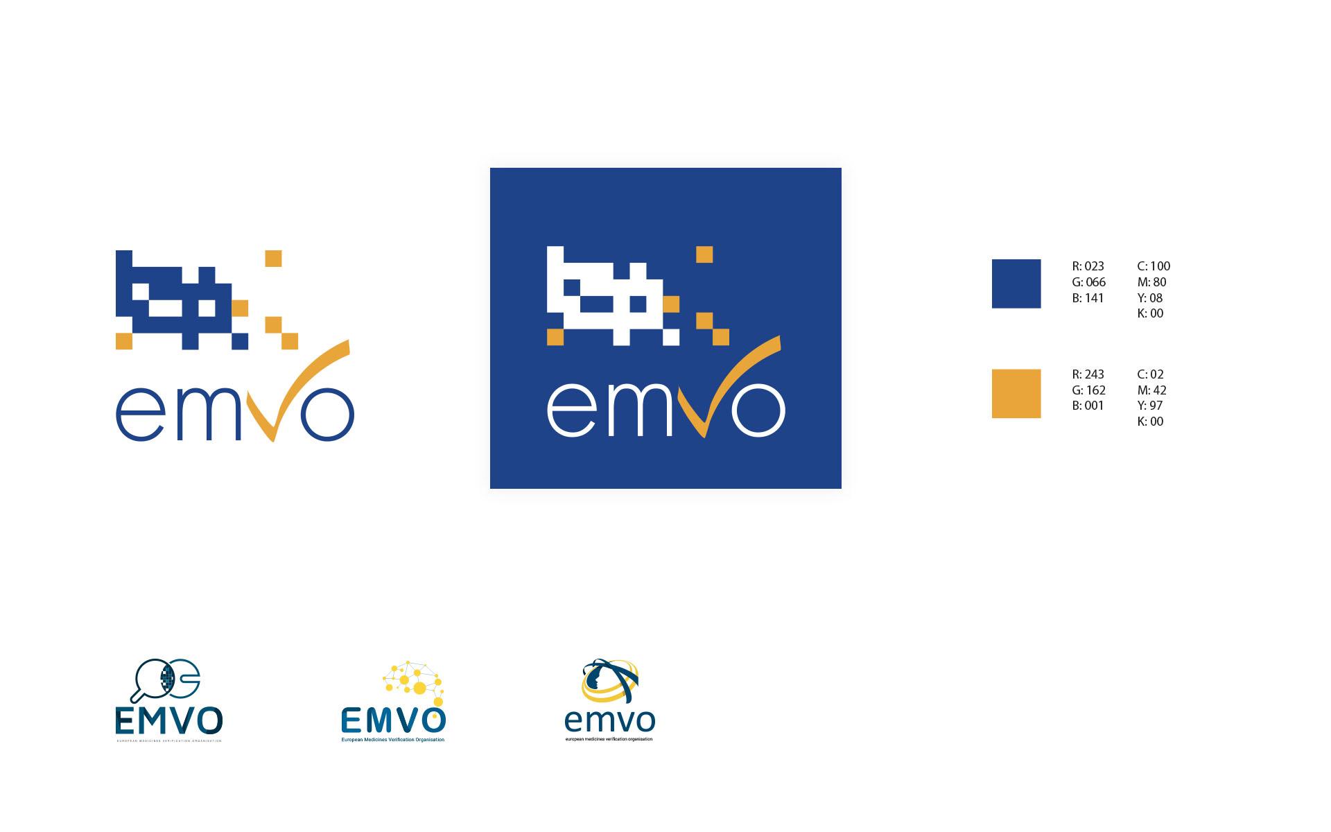 Photos de la création de Site marchand EMVO - European Medicines Verification Organisation