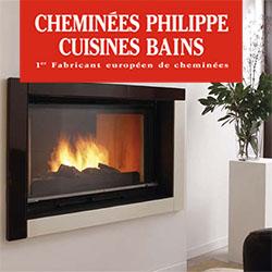 Photo du site Site vitrine Cheminées Philippe Ile de France