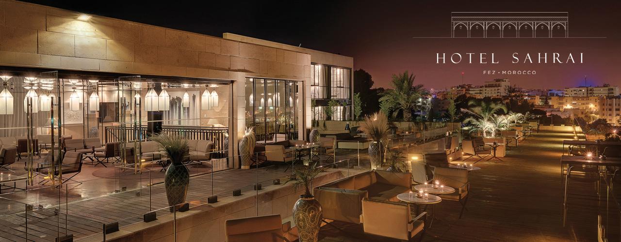 Photo du site Site vitrine Hotel Sahrai