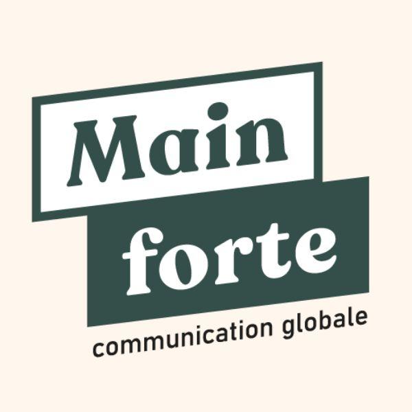 Logo de Agence Main forte agence graphisme à Capbreton