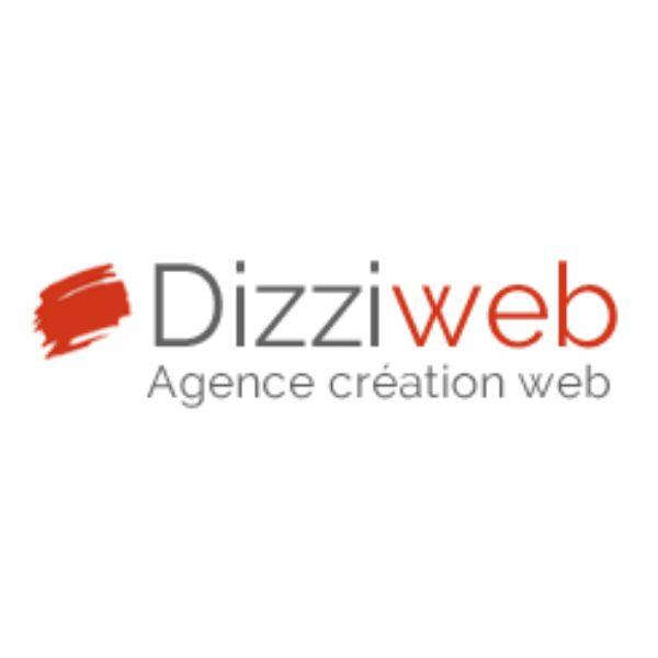 Logo de Dizziweb agence développement à Asnieres