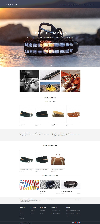 Photo du site Site marchand Aiglon