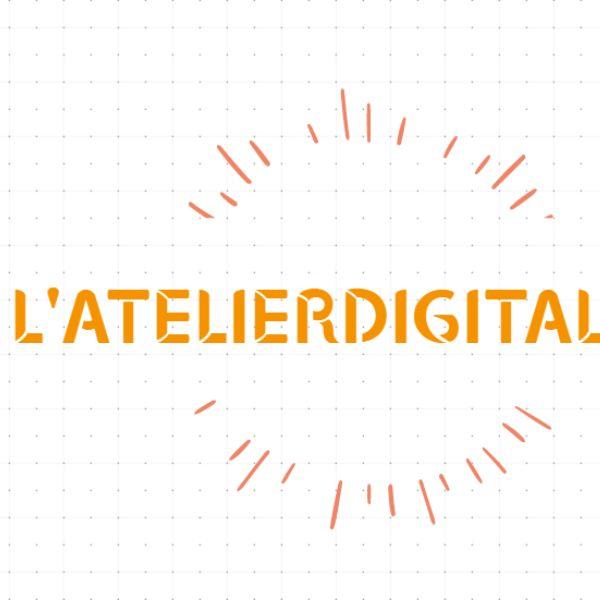 Logo de L'atelier Digital agence webmarketing à Petit Bourg